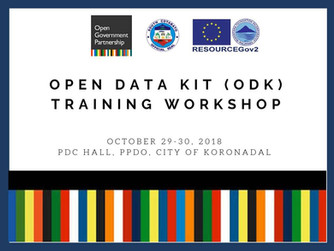 21 - October 29-30, 2018 - ODK Training