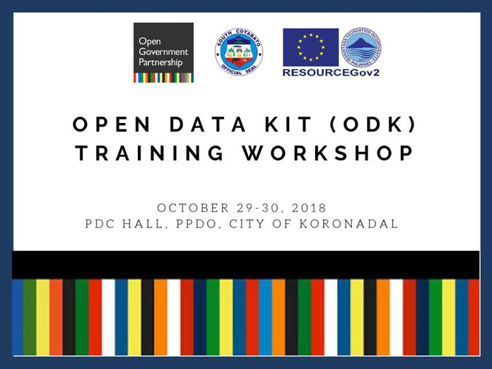 21 - October 29-30, 2018 - ODK Training