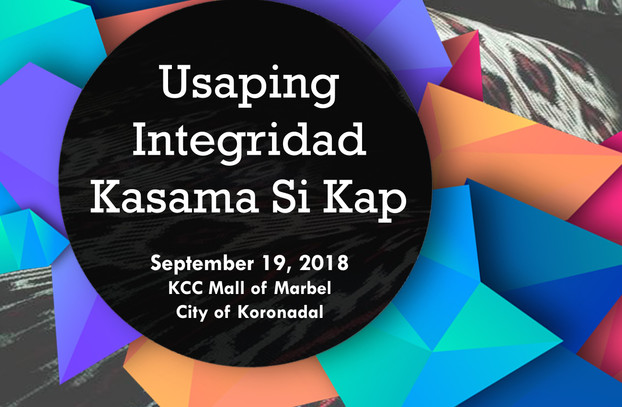 14 - September 19, 2018 - Usaping Integr
