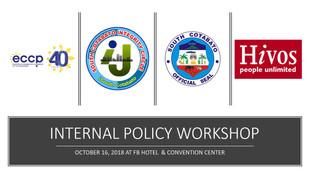 19 - October 16, 2018 -  Workshop to dra