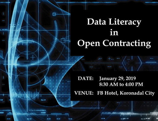 27 - January 29, 2019 - Data Literacy in