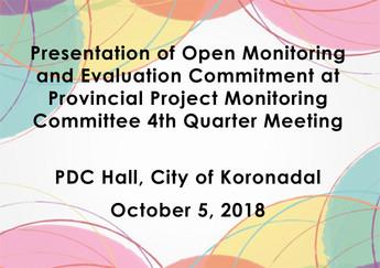 16 - October 5, 2018Presentation of Open