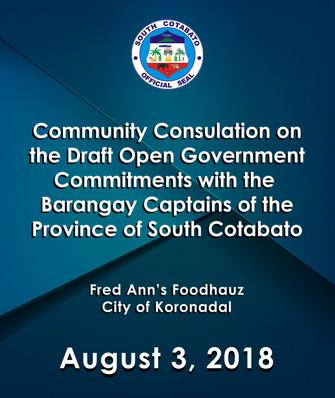 10 - August 3, 2018 - Community Consulat