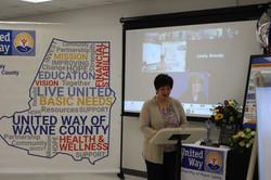 UWWC Board Chair, Donna Phillips