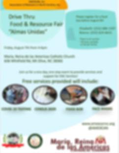 8072020 Food & Resource Fair Flyer Engli