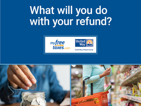 4 Tips for Tax Season from United Way of Wayne County