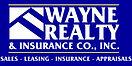 wayne realty insurance blue background1.