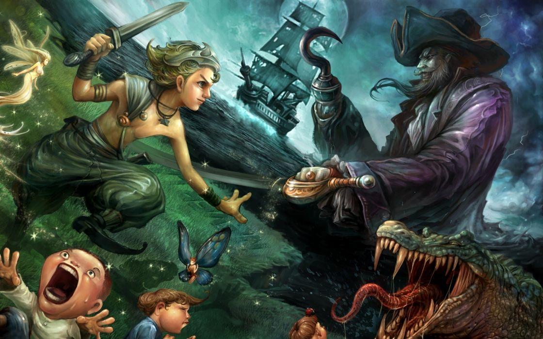 pirates and mermaids