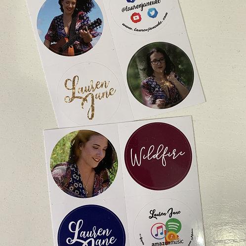 Lauren Jane Stickers
