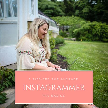 5 Tips for the Average Instagrammer