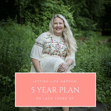 Why a 5 Year Plan is Bullshit