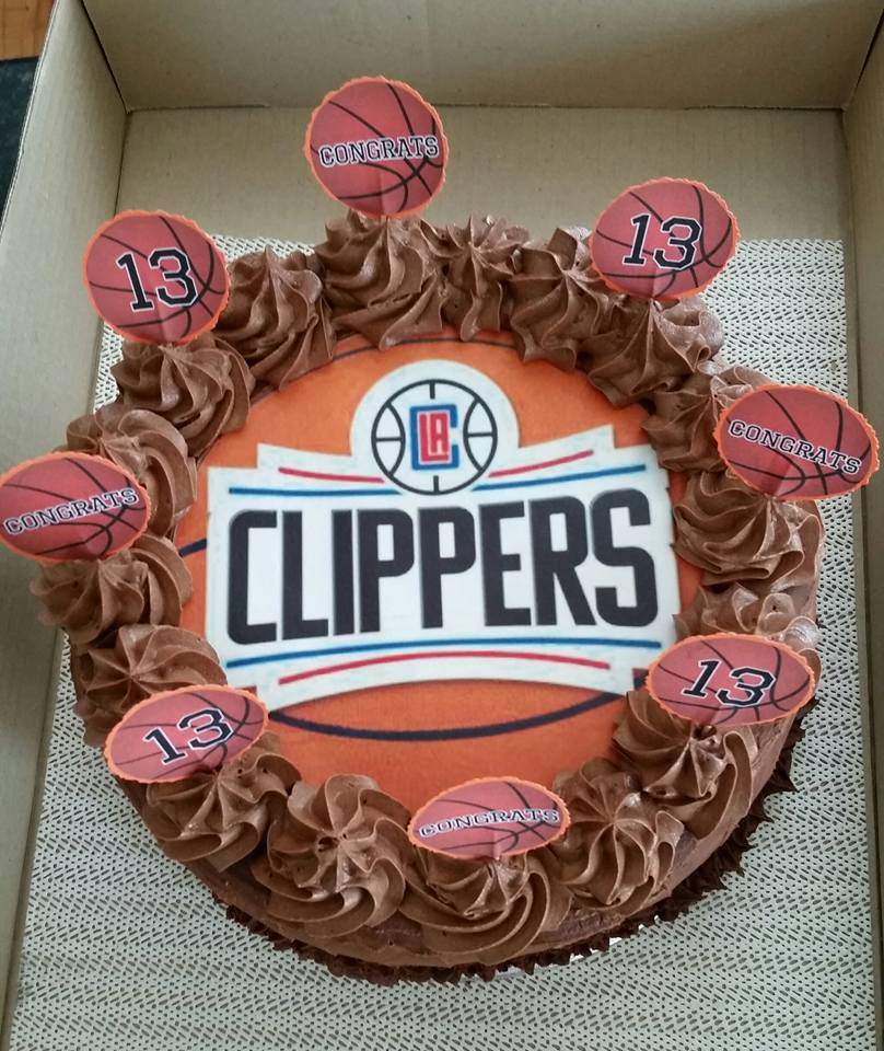 clippers cake