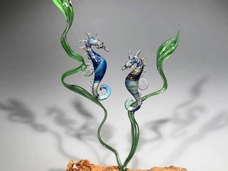 Seahorses always travel in pairs #seahor