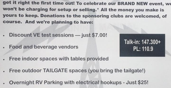East Central Indiana HAM Tailgate Party