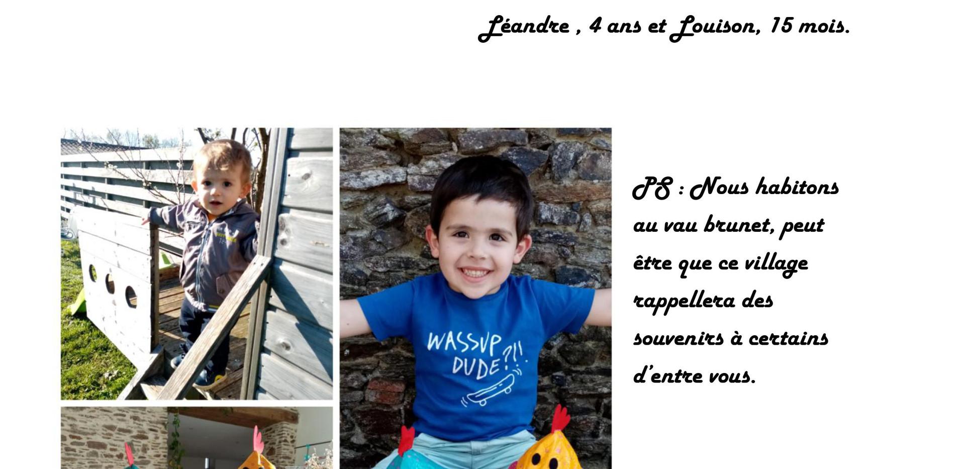 Lettre famille Ferré-Hourdeau MS