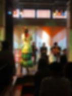 FlamencOWL 松山市 地紙直美フラメンコライブ