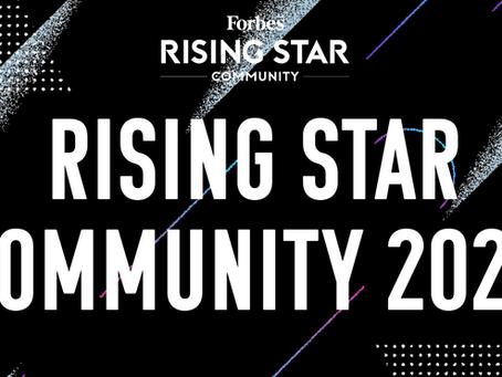 Forbes JAPAN主催の「Rising Star Community」のメンバーに選ばれました!