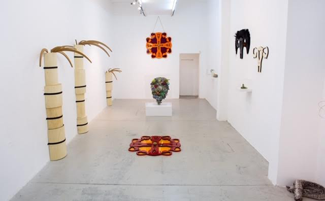 Installation view, The Artists' House, Tel Aviv, 2019