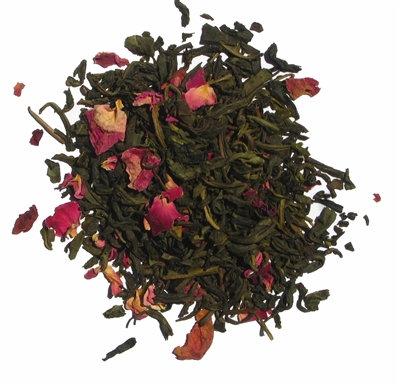 Organic Tea and Trumpets Jasmine Rose Green Tea