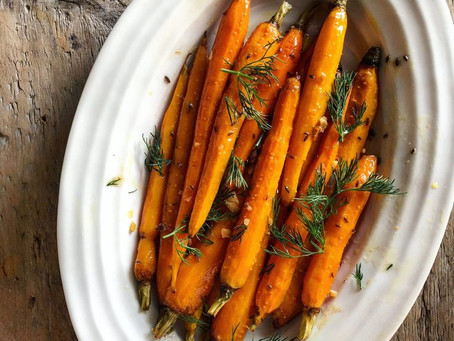 Moroccan Roasted Carrots With Preserved Lemon