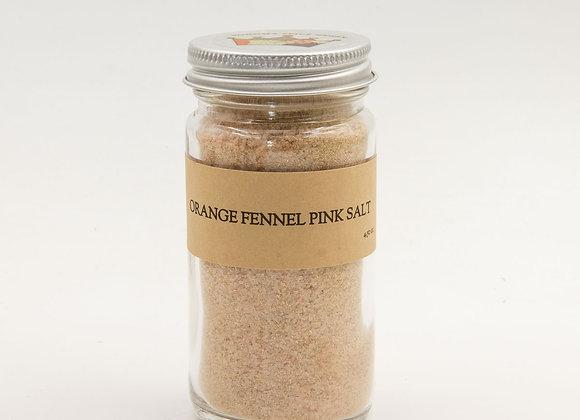 Orange Fennel Pink Salt
