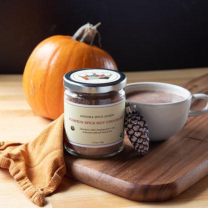 Organic Pumpkin Spice Hot Chocolate