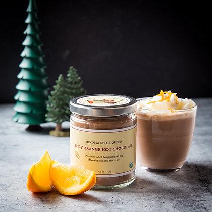 Organic Spicy Orange Hot Chocolate