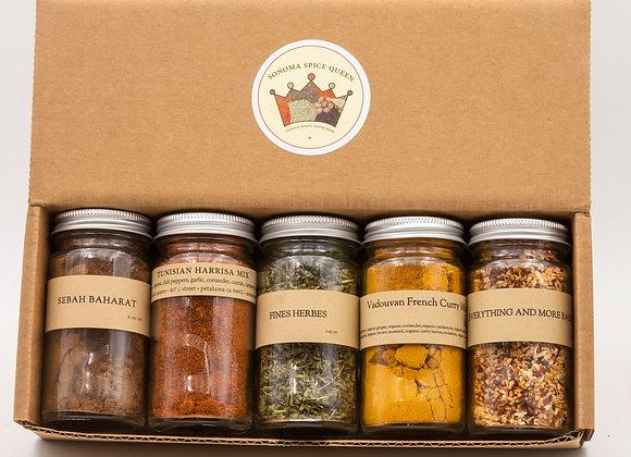 Around the World Spice Box