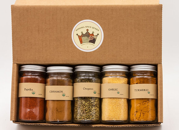 Organic Spice Starter Kit