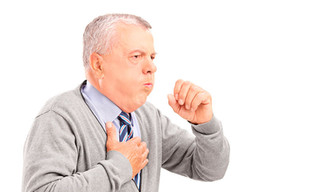 Dificultad para respirar y dolor en el pecho, síntomas de cáncer de pulmón