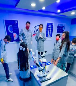 Lysol® inaugura  laboratorio de higiene antibacterial en KidZania