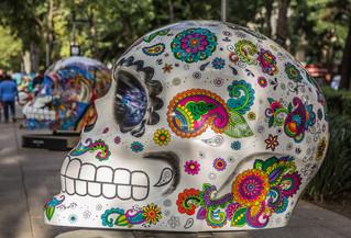 ¡Mexicráneos, exposición al aire libre llega al parque bicentenario
