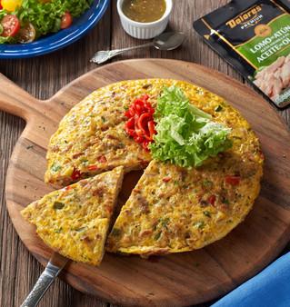 Un clásico español para tu paladar: tortilla de papa con atún Dolores