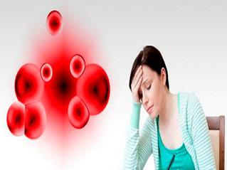 Anemia, el reflejo de la falta de glóbulos rojos en la sangre.