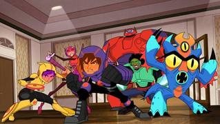 Disney XD estrena la tercera temporada de grandes héroes