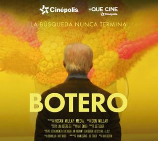 """Cinépolis presenta el documental """"Botero"""""""
