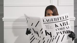 L´oreal Paris y Karl Lagerfeld anuncian colaboración para lanzar colección de maquillajes