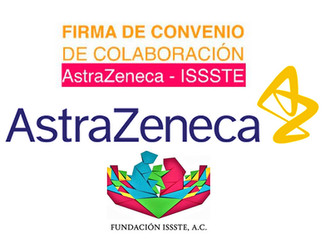 Amplían AstraZeneca y Fundación ISSSTE convenio de colaboración