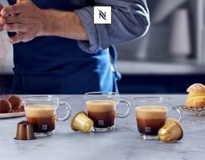Nespresso lanza su renovada gama de Barista Creations Flavoured: sabores indulgenes.