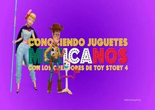 Creadores de Toy Story 4 conocieron varios juguetes típicos mexicanos