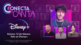 Conecta y canta en exclusiva de DISNEY+
