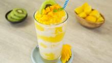 La primavera es mejor con un delicioso frappé de mango