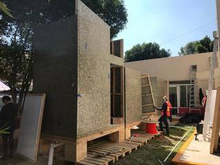 Recicla envases de Tetra Pak y ayuda  a la construcción de dormitorios temporales para médicos
