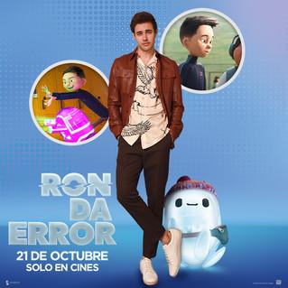 Ron Da Error la nueva película animada