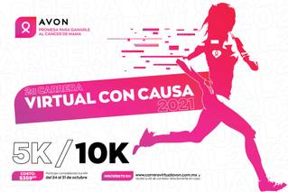 México se pinta de rosa con la Carrera Virtual  Avon 2021