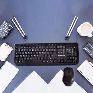 TechZone lanza nuevo kit de mouse y teclado inalámbrico