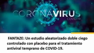 Inicia ensayo clínico de terapia antiviral temprana contra SARS-CoV-2