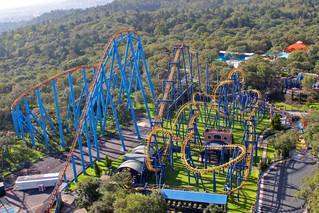 Six Flags México, abierto desde Octubre