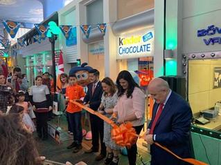 Llega a México la primera fábrica de Kinder Chocolate en KidZania