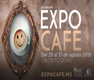 ExpoCafé estará el WTC del 29 al 31 de agosto próximo.